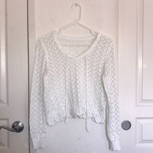 H&M/Divided Lace-up Sweater